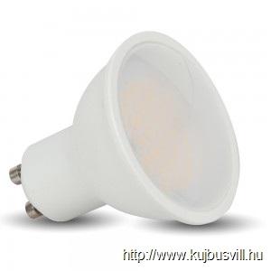 V-TAC LED 5W GU10 izzó 110° nap fehér 1686