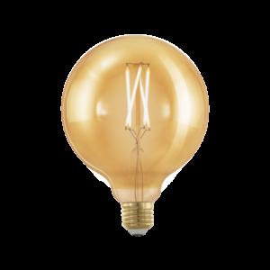 EGLO 11694 LED fényforrás E27 G125 4W 1700K 320Lm 1X4W