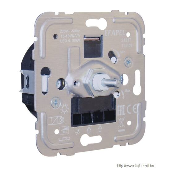 MEC 21217 Fényerőszabályzó, elektronikus előtétes halogénekhez, LED-hez,450W R, C, LED 5-150W