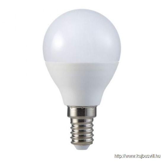 S-LED 5,5W E14 gömb izzó 180° 4000K  169
