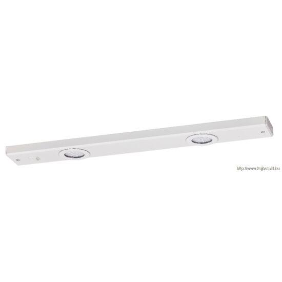 RÁBALUX 2349 Long light lámpatest LED 2x3W fehér