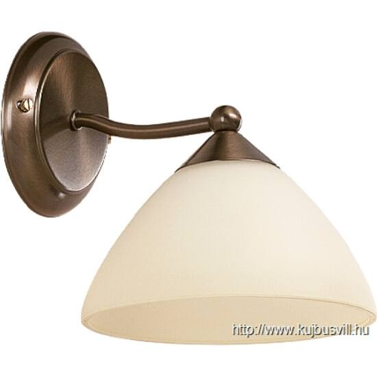 RÁBALUX 8171 Regina falikar E14 40W bronz-krém búra