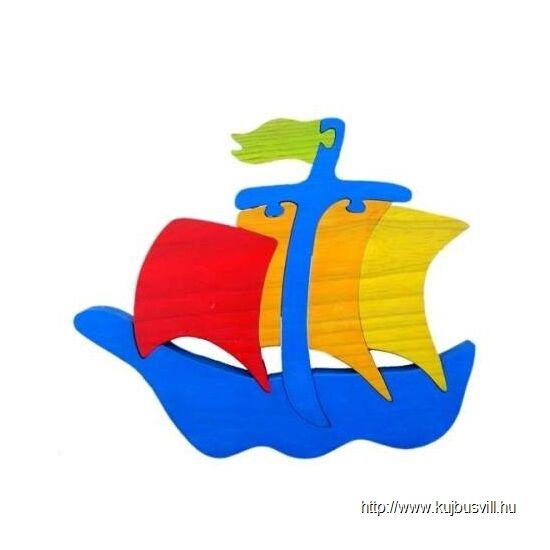 GABELIZ 1015A falikar Hajó kék
