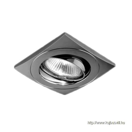 LUXERA 71029 DOWNLIGHT ELEGANT billenthető GU10/50W, 8,4x8,4cm nikkel-satin
