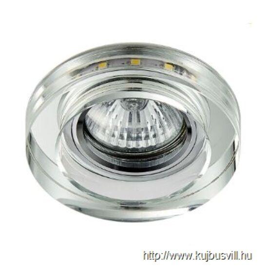 LUXERA 71104 DOWNLIGHT ELEGANT FIX GU10/50W,3W LED  9x9cm
