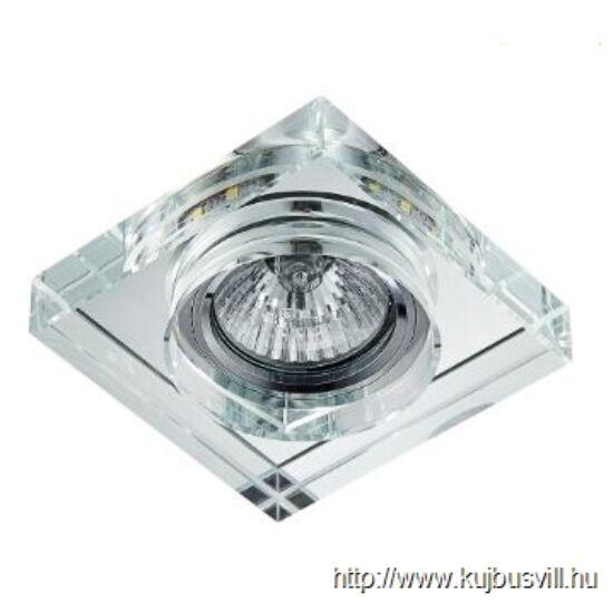 LUXERA 71105 DOWNLIGHT ELEGANT FIX GU10/50W,3W LED  9x9cm