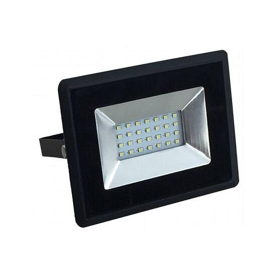 S-LED REFLEKTOR 10W SMD 4000K mozg.érz., fekete - 437