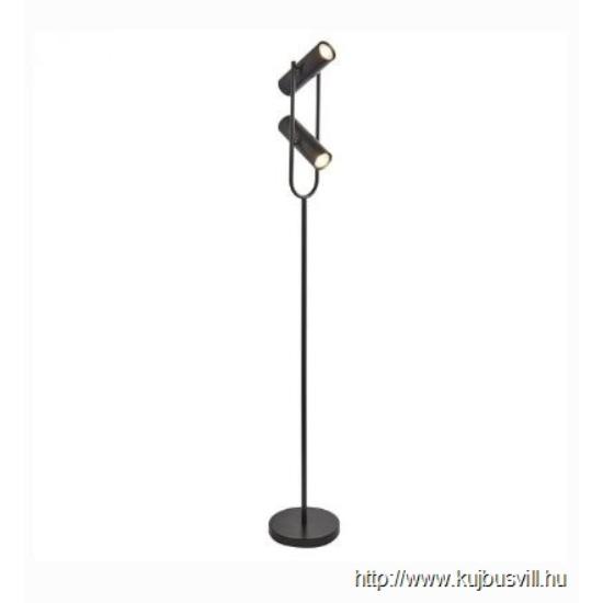 ALADDIN EU2792BK TELESCOPE 2LT CYLINDER SHADE FLOOR LAMP, MATT BLACK