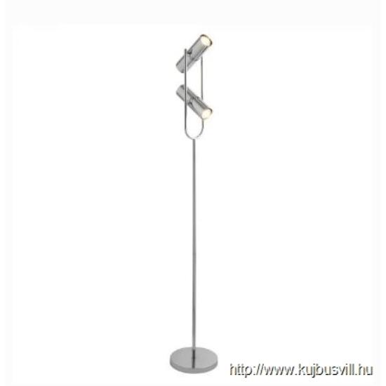 ALADDIN EU2792CC TELESCOPE 2LT CYLINDER SHADE FLOOR LAMP, CHROME