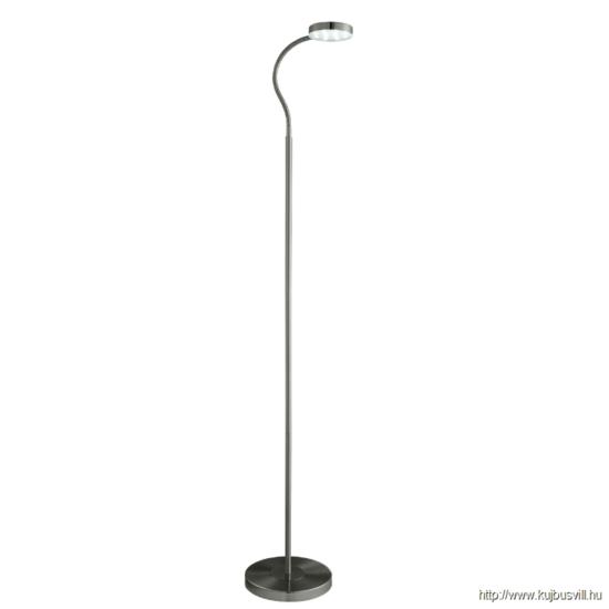 ALADDIN EU1061AB PALMER FLOOR LAMP ADJUSTABLE LED ROUND FLEXI-HEAD, ANTIQUE BRASS