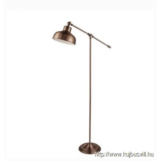 ALADDIN EU2028CU MACBETH INDUSTRIAL ADJUSTABLE FLOOR LAMP, ANTIQUE COPPER
