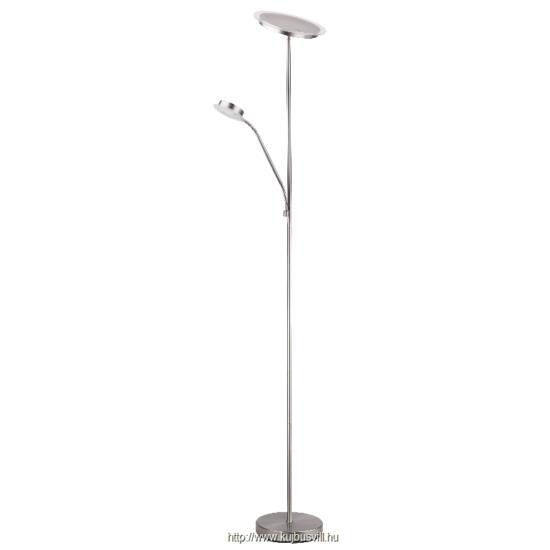 RÁBALUX 4162 Aaron álló lámpa LED 18W+5W, szatin króm
