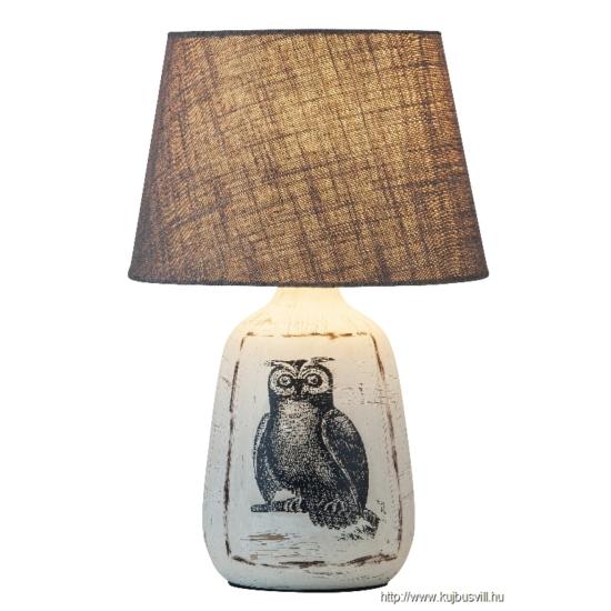 RÁBALUX 4373 Dora asztali lámpa E27 max 40W bagoly