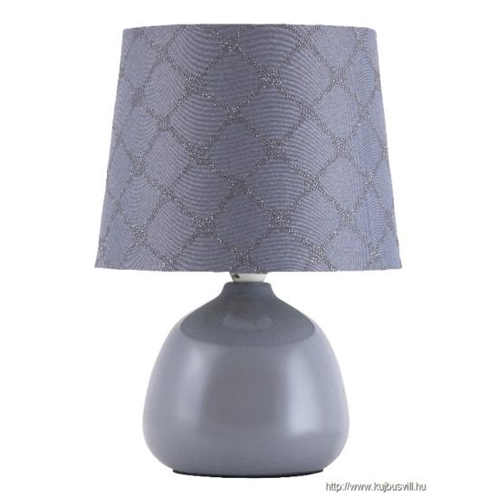 RÁBALUX 4381 Ellie asztali lámpa E14 max 40W szürke