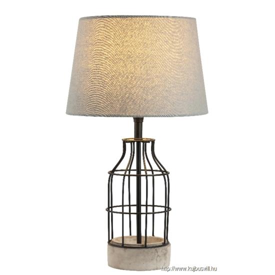 RÁBALUX 4385 Ava asztali lámpa, E27 40W,szürke/fekete