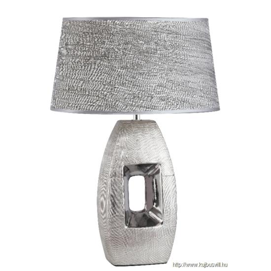 RÁBALUX 4388 Leah kerámia asztali E27 40W ezüst