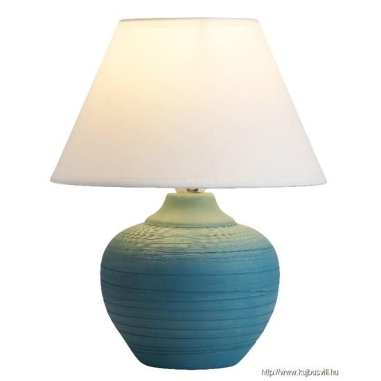 RÁBALUX 4392 Molly kerámia asztali E14 40W kék/fehér