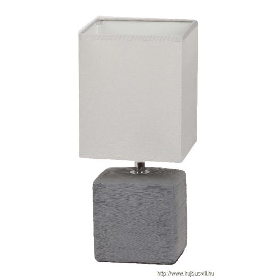 RÁBALUX 4458 Orlando asztali lámpa E14 max40W szürke