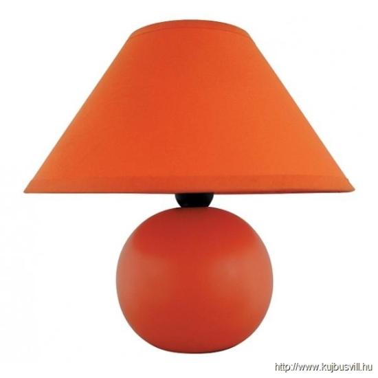 RÁBALUX 4904 Ariel kerámia asztali E14 40W, narancs