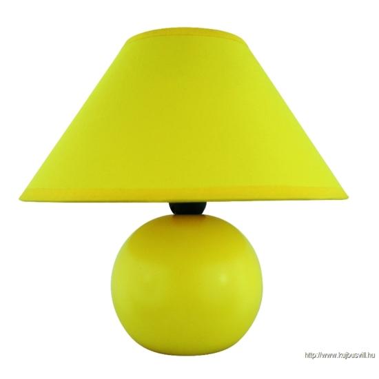 RÁBALUX 4905 Ariel kerámia asztali E14 40W, sárga