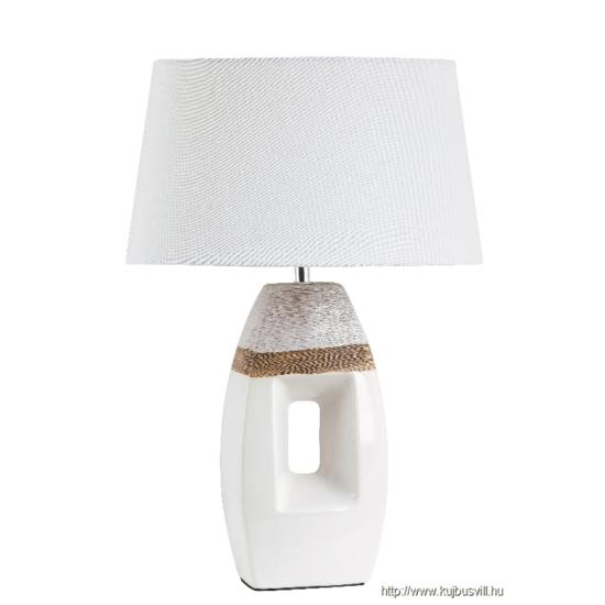 RÁBALUX 4387 Leah kerámia asztali E27 40W barna/fehér