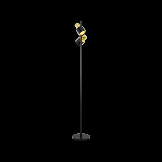EGLO 39388 Álló E27 2x60W fekete/arany Fiumara