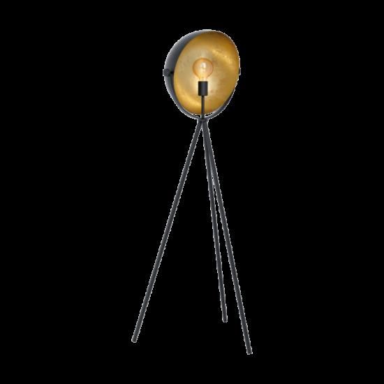 EGLO 98458 Állólámpa E27 40W fekete/arany Darnius