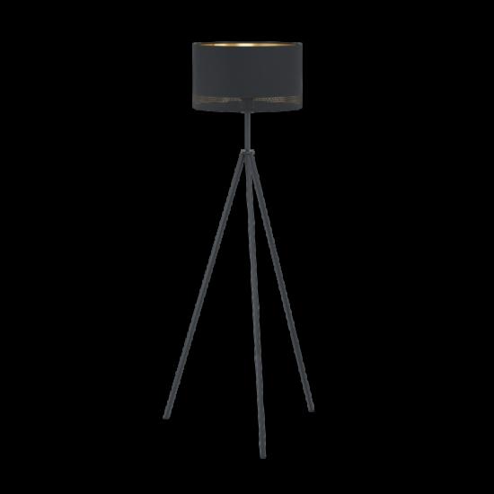 EGLO 99279 Álló E27 1x60W fekete/arany Esteperra
