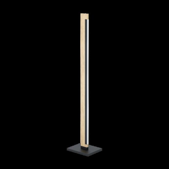 EGLO 99296 LED álló 4x6,5W fekete/tölgy Camacho