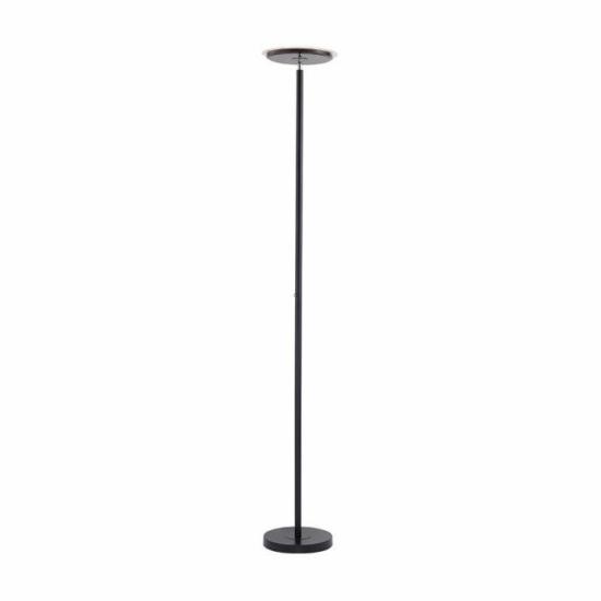 LUXERA 11729-18HANS LED állólámpa 22W/2500lm 3000K fekete