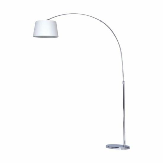 LUXERA 32321 MEDIAN állólámpa 1xE27/40W Ø30cm ↕160cm ↔135cm fehér